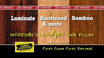 Lumber Liquidators Second Chance Hardwood Flooring Clearance TV Spot - Thumbnail 8