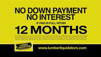 Lumber Liquidators Second Chance Hardwood Flooring Clearance TV Spot - Thumbnail 9