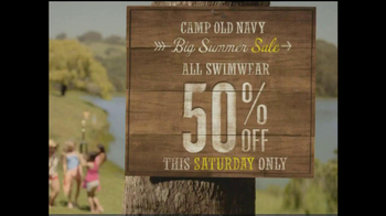 Old Navy TV Spot, 'Camp Old Navy Sale' - Thumbnail 4