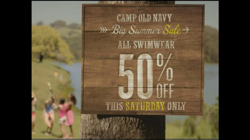 Old Navy TV Spot, 'Camp Old Navy Sale' - Thumbnail 5