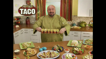 Perfect Taco TV Spot Featuring Marc Gill - 2 commercial airings