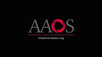AAOS TV Spot, 'Held Back' - Thumbnail 10
