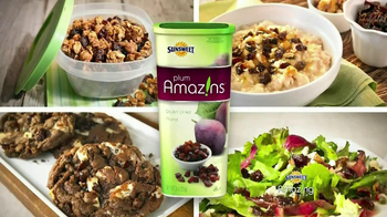 Sunsweet Plum Amazins TV Spot, 'Great on Anything'