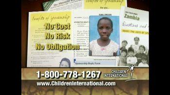 Children International TV Spot, Featuring Debbie Gibson