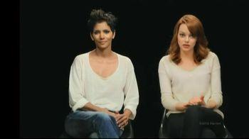 Revlon Cares TV Spot, 'Cancer Screenings' Feat. Emma Stone, Hallie Berry
