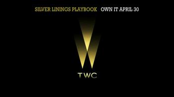 Silver Linings Playbook Blu-Ray & DVD TV Spot - Thumbnail 1