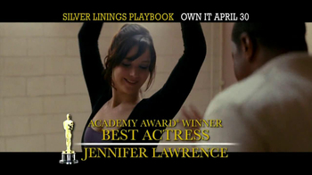 Silver Linings Playbook Blu-Ray & DVD TV Spot