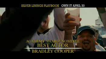Silver Linings Playbook Blu-Ray & DVD TV Spot - Thumbnail 8