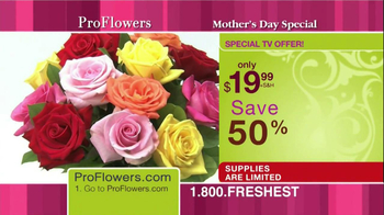ProFlowers TV Spot, '50% Off TV Offer' - Thumbnail 2