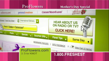 ProFlowers TV Spot, '50% Off TV Offer' - Thumbnail 5