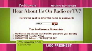 ProFlowers TV Spot, '50% Off TV Offer' - Thumbnail 6