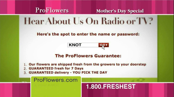 ProFlowers TV Spot, '50% Off TV Offer'