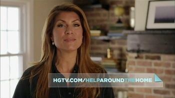 HGTV Website TV Spot, 'Help Around the Home' Featuring Genevieve Gorder - 78 commercial airings