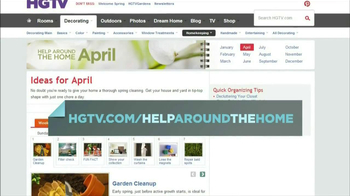 HGTV Website TV Spot, 'Help Around the Home' Featuring Genevieve Gorder - Thumbnail 7