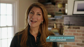 HGTV Website TV Spot, 'Help Around the Home' Featuring Genevieve Gorder - Thumbnail 1