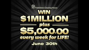 Publishers Clearing House TV Spot, 'June 30, 2013' - Thumbnail 4