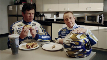 Aaron's TV Spot, 'Differences' Featuring Mark Martin and Michael Waltrip - Thumbnail 4