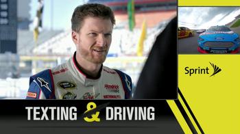 Sprint Drive First App TV Spot Featuring Dale Earnhardt, Jr. - Thumbnail 4