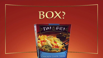 Tai Pei Chicken Chow Mein TV Spot, 'Box or Plate?' - Thumbnail 3