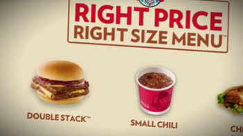 Wendy's Right Price Right Size Menu TV Spot Featuring Wendy Thomas  - Thumbnail 6