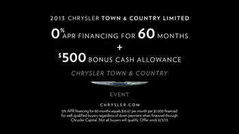 2013 Chrysler Town & Country Event TV Spot, 'Haven't Seen it All' - Thumbnail 8