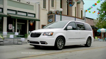 2013 Chrysler Town & Country Event TV Spot, 'Haven't Seen it All' - 834 commercial airings