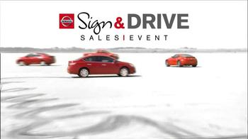 Nissan Sign & Drive Sales Event TV Spot, 'Signature' - Thumbnail 6