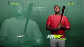 Subway TV Spot, 'Avocado Season' Ft. Ryan Howard, Mike Trout, Carl Edwards - Thumbnail 9