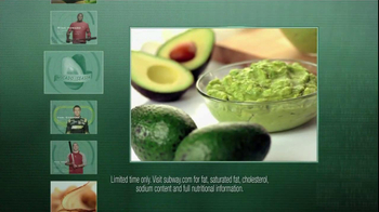 Subway TV Spot, 'Avocado Season' Ft. Ryan Howard, Mike Trout, Carl Edwards - Thumbnail 3