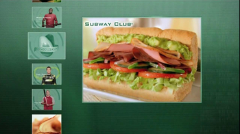 Subway TV Spot, 'Avocado Season' Ft. Ryan Howard, Mike Trout, Carl Edwards - Thumbnail 7