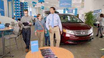 Honda Odyssey Clearance Event TV Spot, 'Perfect' - 551 commercial airings