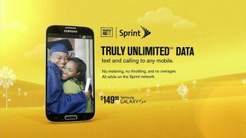 Sprint Truly Unlimited Data TV Spot, 'Grad'