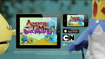 Adventure Time Rock Bandits Game App TV Spot - Thumbnail 7
