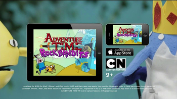 Adventure Time Rock Bandits Game App TV Spot - Thumbnail 9