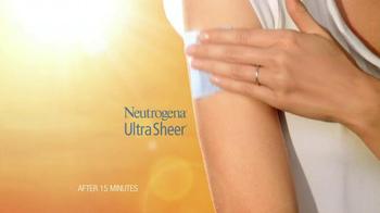 Neutrogena Ultra Sheer Dry Touch TV Spot Featuring Jennifer Garner - Thumbnail 8