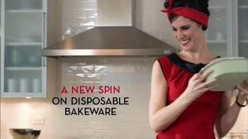 Chinet Bakeware TV Spot, \'Bake and Take\'