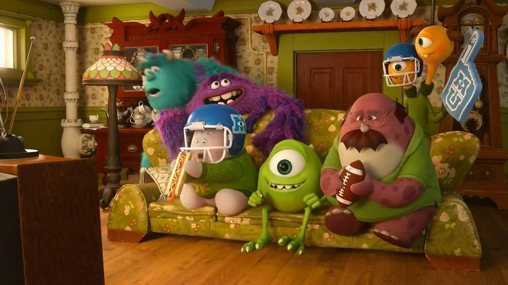 Swiffer Wetjet Tv Commercial Monsters University Ispot Tv
