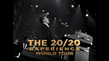 Justin Timberlake: The 20/20 Experience World Tour TV Spot
