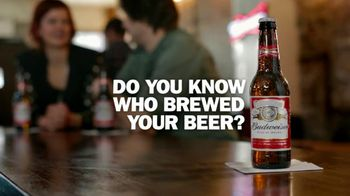 Budweiser TV Spot, 'Brew Masters'