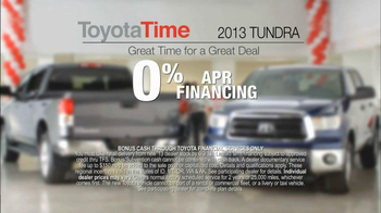 Toyota Time Sales Event TV Spot, 'Built to Tow' - Thumbnail 7