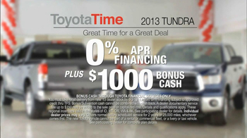 Toyota Time Sales Event TV Spot, 'Built to Tow' - Thumbnail 8