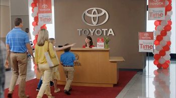 Toyota Time Sales Event TV Spot, 'Hansen Family' - Thumbnail 1