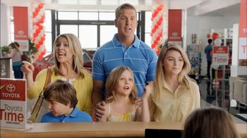 Toyota Time Sales Event TV Spot, 'Hansen Family' - Thumbnail 8