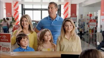 Toyota Time Sales Event TV Spot, 'Hansen Family'
