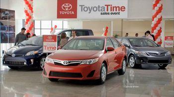 Toyota Time Sales Event TV Spot, 'Hansen Family' - Thumbnail 3