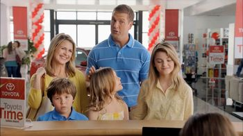 Toyota Time Sales Event TV Spot, 'Hansen Family' - Thumbnail 4