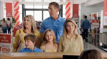 Toyota Time Sales Event TV Spot, 'Hansen Family' - Thumbnail 5