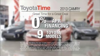 Toyota Time Sales Event TV Spot, 'Hansen Family' - Thumbnail 6