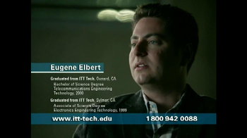 ITT Technical Institute TV Spot, 'Eugene Elbert'