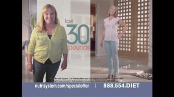Nutrisystem Meal Planner TV Spot, 'Special Offer' - Thumbnail 2